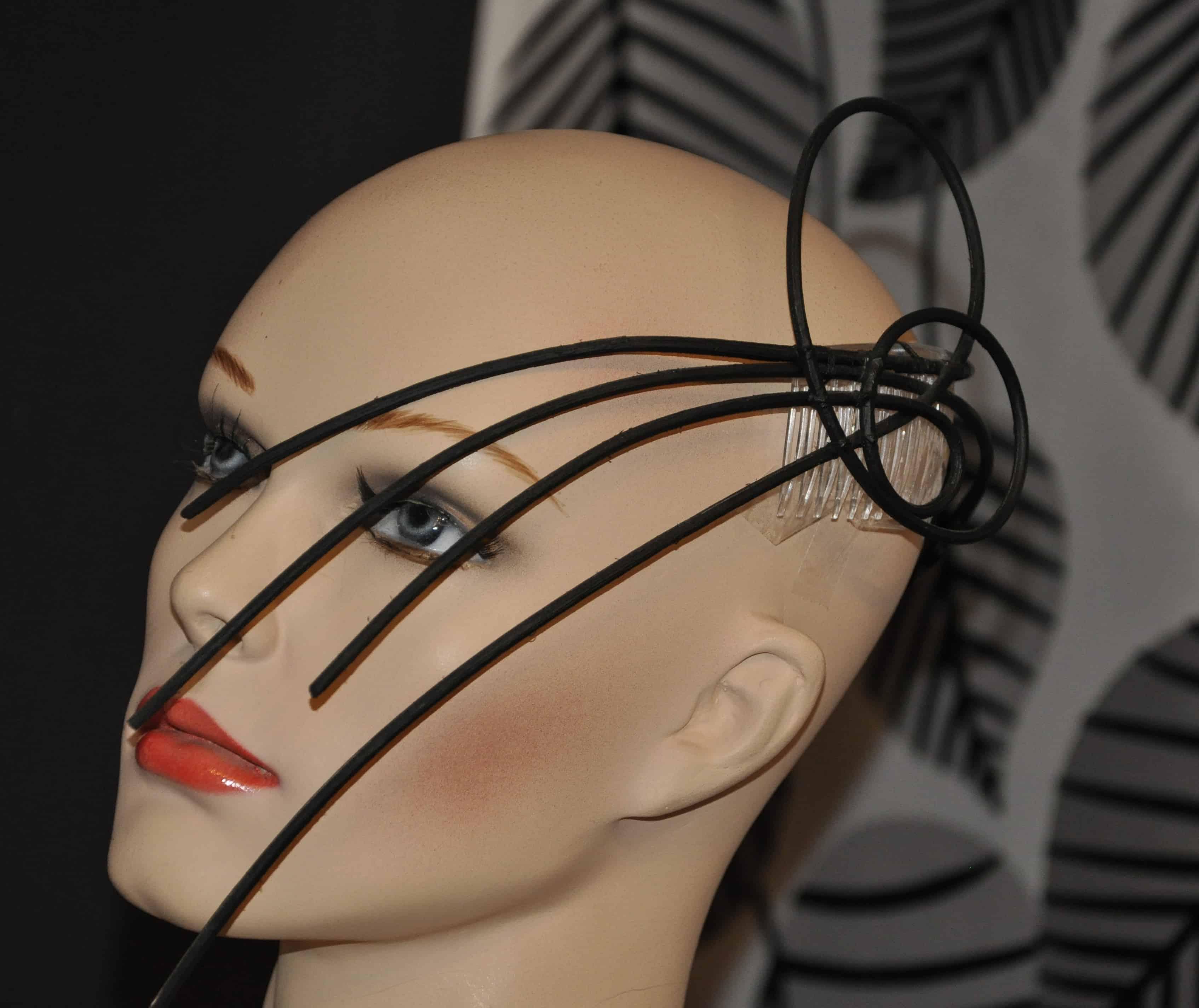 Haarschmuck-Abendmode-schwarz