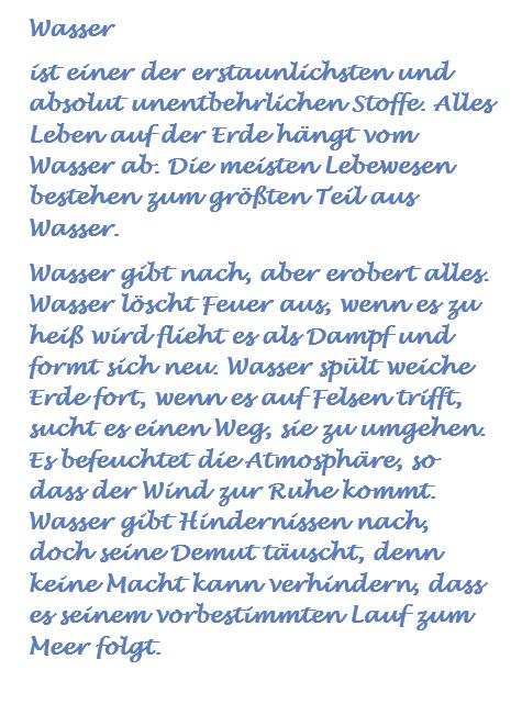 Wasser - Deutsch - Bild, 2