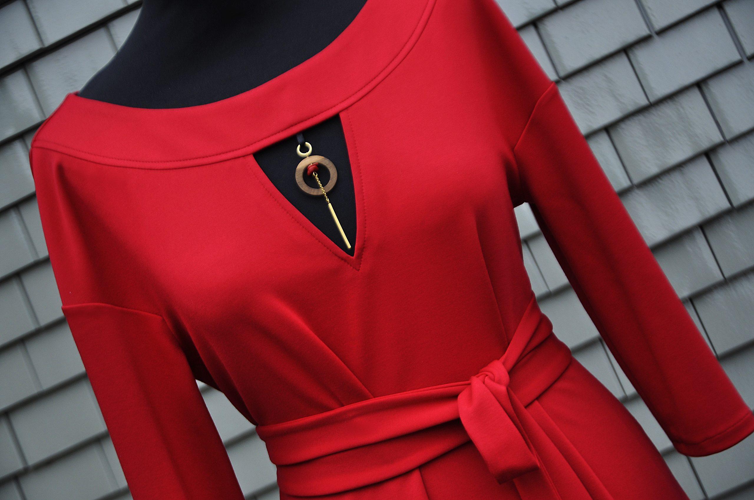 Kleid Rot - 1