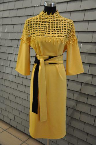 Kleid - gelb solu