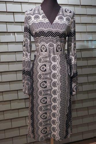 Wickelkleid - schwarz weiß.JPG, 2
